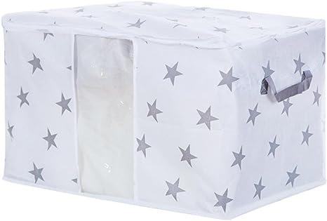 Useful Foldable Storage Bag Clothes Blanket Quilt Closet Sweater Organizer Case