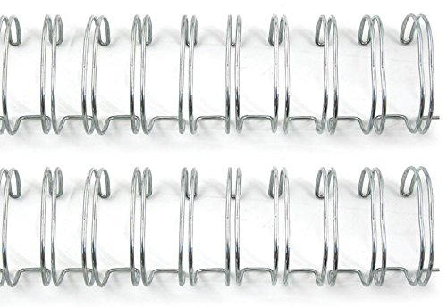 We R Memory Keepers 71008-0 The Cinch Book Binding Wires, 0.75-Inch, Silver