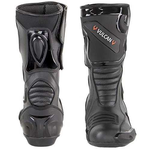 Vulcan V300 Mens Velocity Motorcycle Sport Boots - 13 by Vulcan (Image #2)