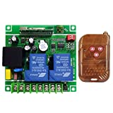 MonkeyJack Switch Module AC 85-240V 2-Way Receiver Garage Door Switch 315MHz / 433MHz