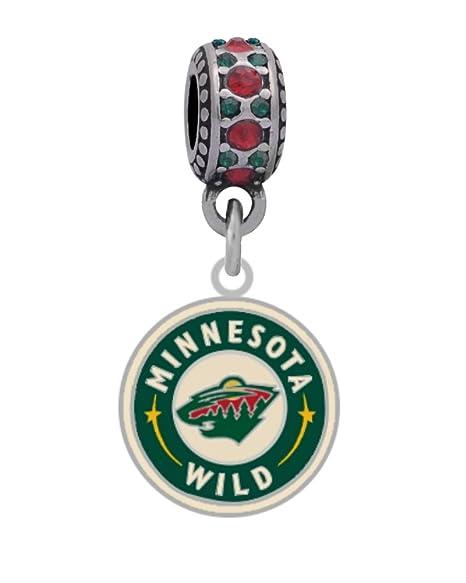 promo code 479b5 1d240 Amazon.com : Final Touch Gifts Minnesota Wild Round Logo ...