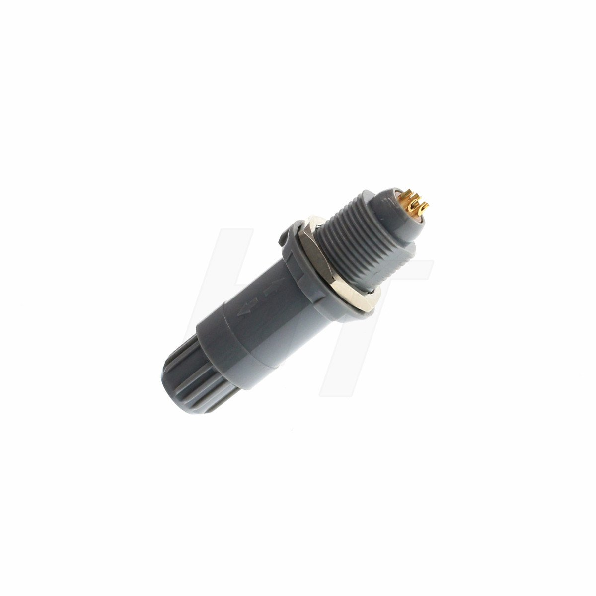 Conector Circular de pl/ástico para Enchufe Macho Macho a Hembra, 2 Unidades HangTon 1P
