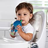 Munchkin Click Lock Weighted Flexi Straw Trainer Cup, Blue, 7 Ounce