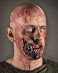 Zombie quijada herida