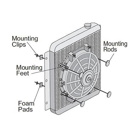 American V, 6 pulgadas Pequeño Slim eléctrico Ventilador 12 ...