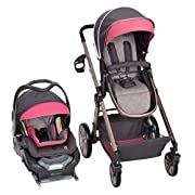 Baby Trend Go Lite Snap Fit Sprout Travel System, Rose Gold