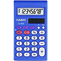 Casio Inc. SL450L-S1 Standard Function Calculator