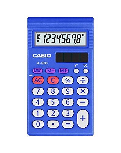 Casio Inc. SL450L-S1 Standard Function Calculator from Casio