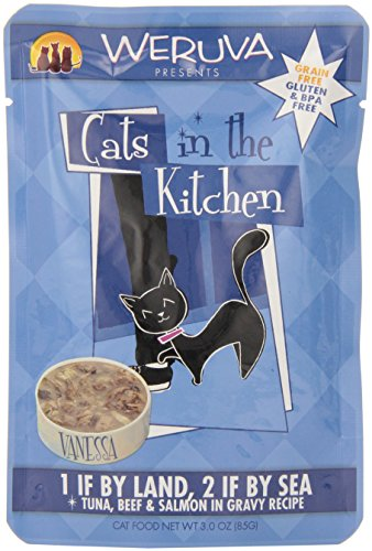 Weruva 878408008252 Cats in the Kitchen Pouch Pet Food , 3 o