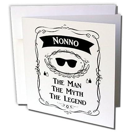 Amazon 3dRose Nonno The Man Myth Legend Funny