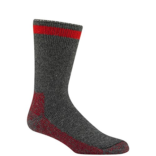 Wigwam Men's / Women's Wool Canada Crew Socks Charcoal Heather Large