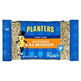 Planters Slivered Almonds, Unsalted, 6 Ounce Bag (Pack of 6)