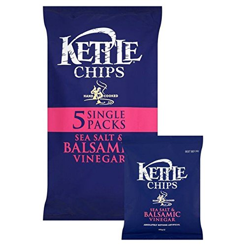 Kettle Chips Salt & Balsamic Vinegar 30g x - 5 per pack