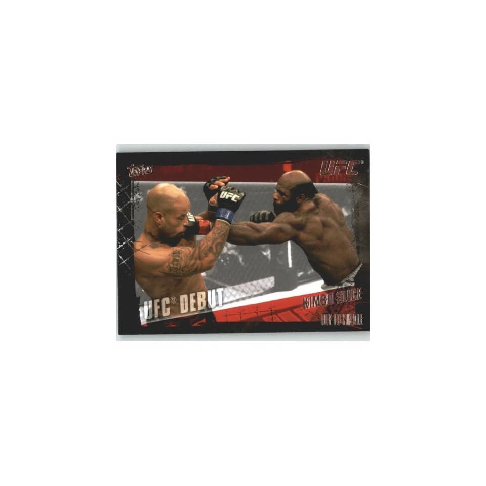 com 2010 Topps UFC Trading Card # 147 Kimbo Slice (Ultimate Fighting