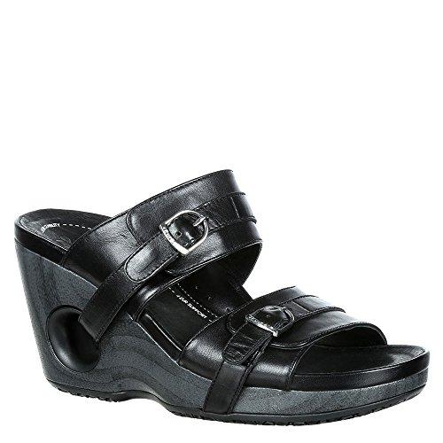 Sandalo Donna 4ursole Splendor Con Cinturino Scorrevole Nero
