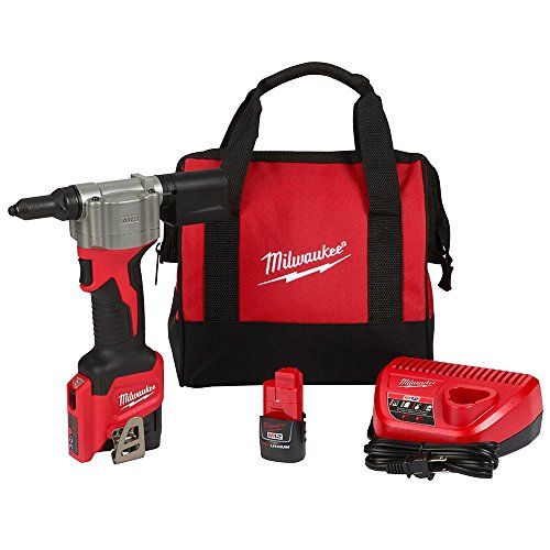- Milwaukee Electric Tools 2550-22 M12 Rivet Tool Kit