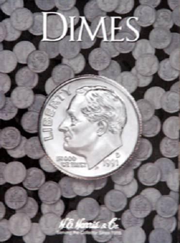 Plain Dime Coin Folder, no dates by H.E. HARRIS