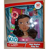 Kid Connection Beauty Salon - Black African American Styling Hair Doll