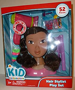 hair styling toys kid connection salon black 7420