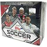 MLS Trading Cards 2018, Major League Soccer Cards, 24 Packs, 6 Cards per Pack, Pack Factory Sealed Retail Box