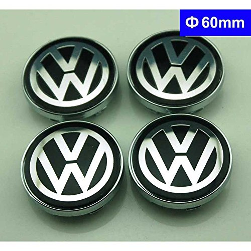 4pcs W196 60mm Car Styling Accessories Emblem Badge Sticker Wheel Hub Caps Centre Cover VW Volkswagen B5 B6 MK4 MK5 MK6 Golf Polo PASSAT SAGITAR Jetta CC MAGOTAN Scirocco Eos