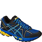 ASICS Mens Gel-Kahana 8 Running-Shoes, Directoire Blue/Vibrant Yellow/Black, 9 Medium US
