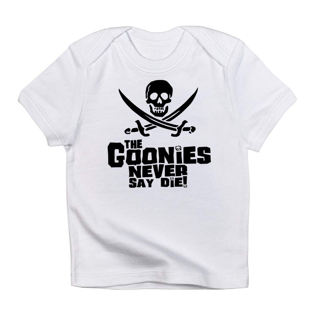 ef0d7c9a Amazon.com: CafePress Goonies Never Say Die Infant T Shirt Baby T-Shirt:  Clothing