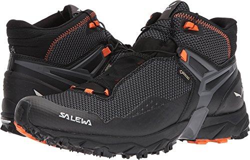 Salewa Men's Ultra Flex Mid GTX Mountain Training Shoe, Black/Holland, 10.5 D(M) US