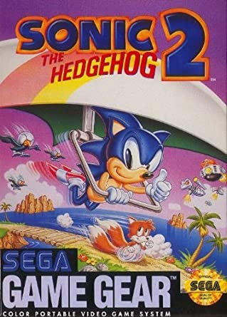 Amazon Com Sonic The Hedgehog 2 Sega Game Gear Original