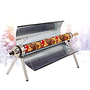 51Klrsjsc4L. SS300  - Portable Solar Oven,All Seasons Sun Cooker BBQ Grill Picnic Food Heater Kebab Roast Charbroiler With Handbag