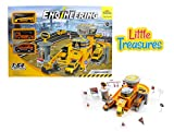 Little Treasures Utility repair mechanical shop play toy - a fun engineering fix station with parking