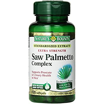 Nature S Bounty Saw Palmetto Hair Loss