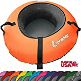 Bradley Snow Tube Sled with 48'' Cover (Neon Orange)
