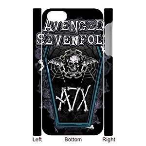 Custom Your Own Unique Rock Band Avenged Sevenfold A7X M Shadows iPhone 5 Cover Snap on A7X iPhone 5 5S Case