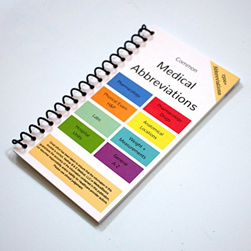 Scrubnotes - Medical Reference ID Badge Cards - 13 Card Set with Pocket Medical Abbreviation Booklet for Doctors and Nurses by Medical Basics (Image #4)