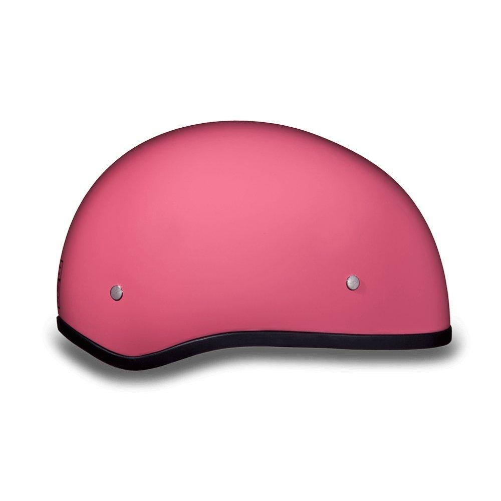 Hi-Gloss Black Daytona Skull Cap W//O Visor D.O.T Daytona Helmets