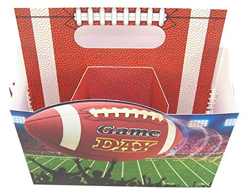 Game Day Football Party Paper Utensil Caddy