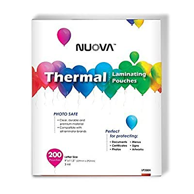 Nuova Premium Thermal Laminating Pouches from Aurora Corp of America