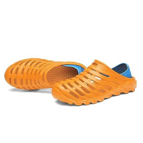 7c928b0f39ad9 Amazon.com: Lamica Eva Shoes Men's Hole Shoes Summer Hole Shoes ...