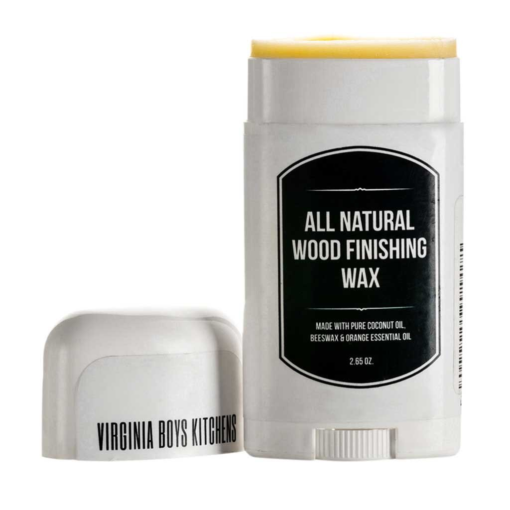All Natural Coconut Oil and Beeswax Derived Wood Seasoning and Houseware Finishing Wax (2.65 Oz Stick