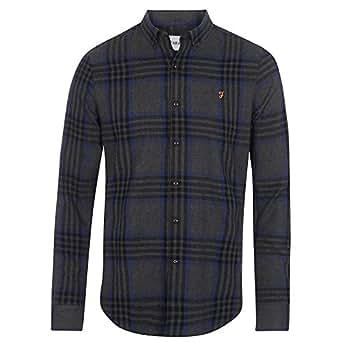 Farah Shirts For Men, Grey, S