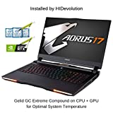 Compare technical specifications of HIDevolution AORUS 17 YA-9US2452SH (AO17-YA-9US2452SH-HID8)
