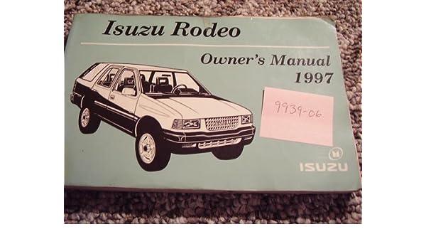 1997 isuzu rodeo owners manual open source user manual u2022 rh dramatic varieties com isuzu trooper repair manual isuzu trooper service manual pdf