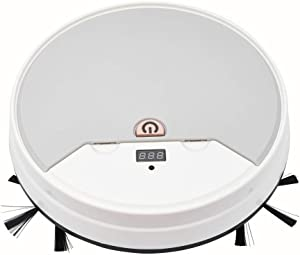 Tutuba Smart Robot Vacuum, 3-in-1 Robot Sweeper/Vacuum/Mop, Premium Robot Vacuum Cleaner with Water Storage Box,1800Pa Powerful Suction, Good for Pet Hair, Hard Floor and Low Pile Carpets