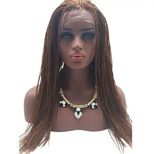 cheap braided wigs honorhair cheap fully braided lace front wigs micro braid 9399