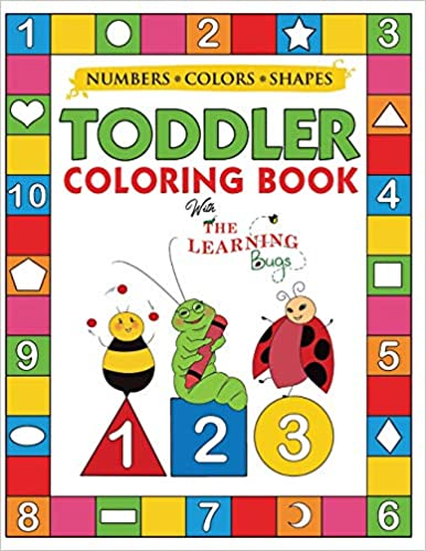 Amazon.com: My Numbers, Colors and Shapes Toddler Coloring ...
