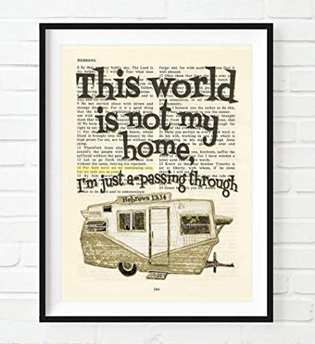 This World Is Not My Home, Hebrews 13:14 Christian for sale  Delivered anywhere in USA