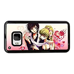 Generic hard plastic CODE GEASS Lelouch of the Rebellion Anime Cell Phone Case for HTC One M9 Black B1855