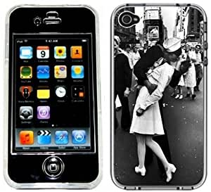 Sailor Nurse Kiss WWII Handmade iPhone 4 4S Full Hard Plastic Case