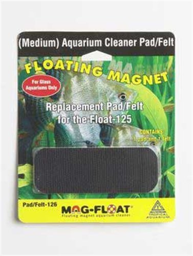 Mag Soap - Gulfstream Tropical AGU00126 125-Gallon Mag-Replacement Pad Felt for Aquarium Cleaner, Medium